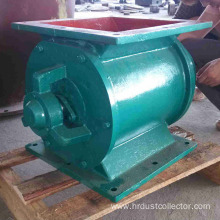 Flexible casting steel valve for Silo